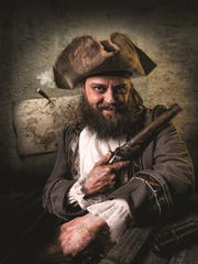 """A promotional photo For """"Treasure Island,"""" to be presented"""