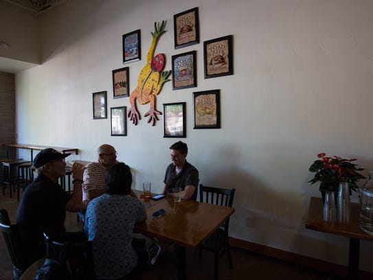 Little Toad Creek Brewery and Distillery in Las Cruces offers a comfortable atmosphere with live music offered regularly.