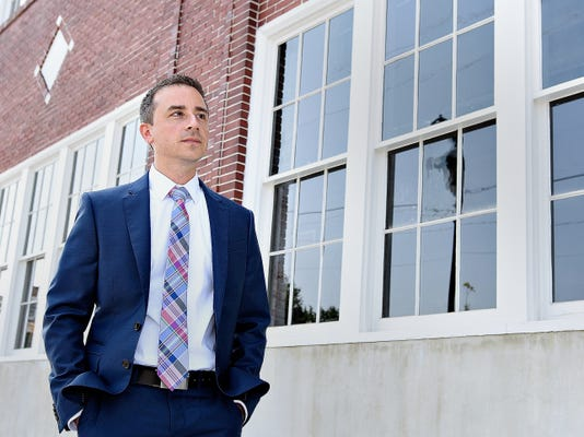 Royal Square CEO and President Josh Hankey is shown in downtown York, Pa. on Friday, July 3, 2015. Dawn J. Sagert - dsagert@yorkdispatch.com