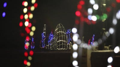 Lights Under Louisville at Mega Cavern is open through Jan. 4.