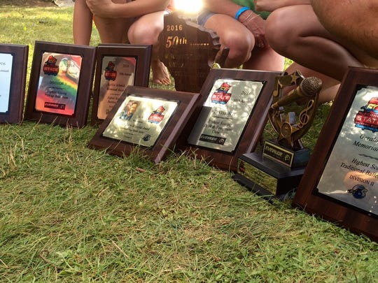 All the awards the Wisconsin Rapids Aqua Skiers won during the 50th Wisconsin State Show Ski Championships this weekend at Lake Wazeecha.