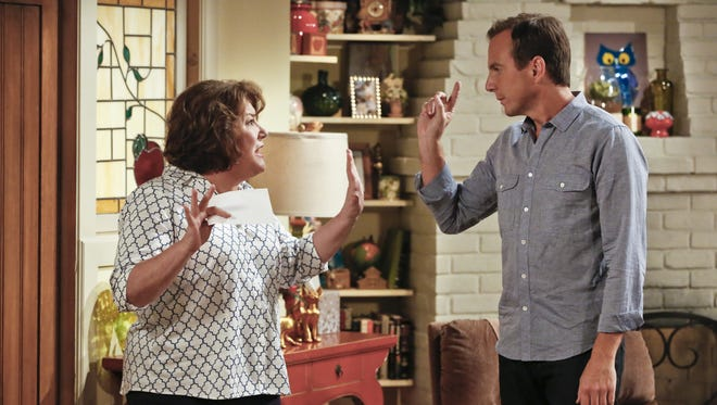 Margo Martindale and Will Arnett star in CBS' 'The Millers.'