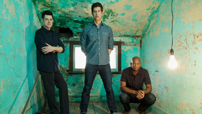Better Than Ezra, from left, Tom Drummond, Kevin Griffin and Michael Jerome.