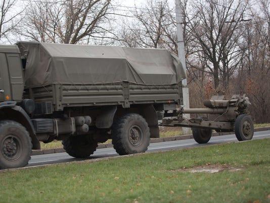 NATO: Russia moving combat troops into east Ukraine