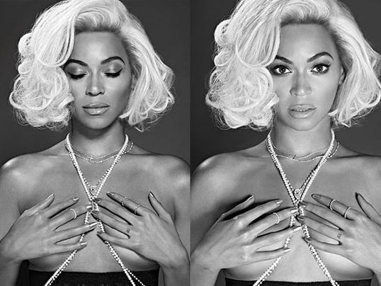 Beyonce in Out