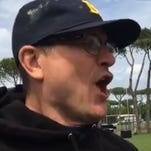 Seidel: Jim Harbaugh sings opera, preps for gladiator training in Rome