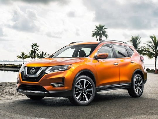 The Nissan Rogue, an SUVassembled in Smyrna, has led all Nissan models in sales this year.