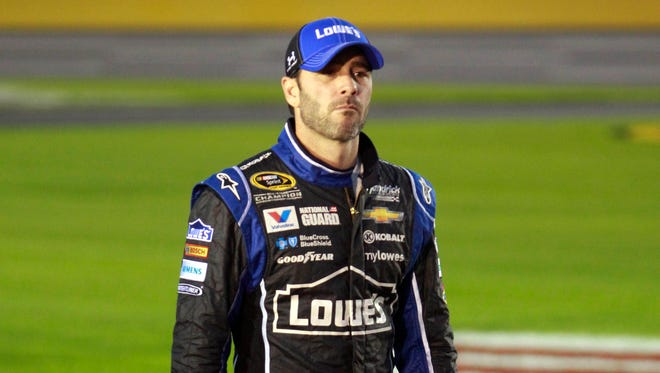 Jimmie Johnson has never finished a season lower than sixth since becoming a full-time driver in 2002.