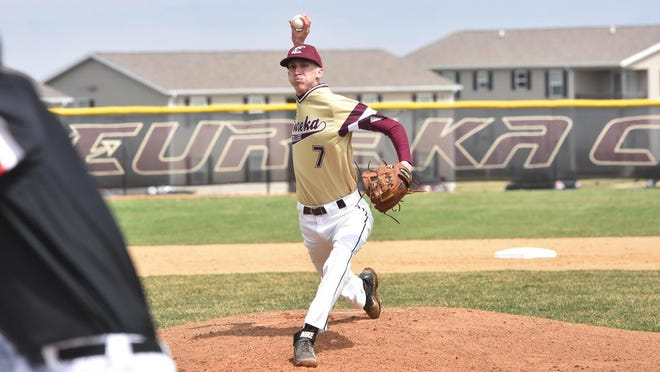 Eureka College's Kyle Cashdollar, a fifth-year senior pitcher from Morton, had a perfect 0.00 ERA in six appearances before the baseball season came to an abrupt halt in mid-March.