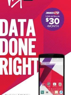 Virgin Mobile is offering contract-free data sharing.