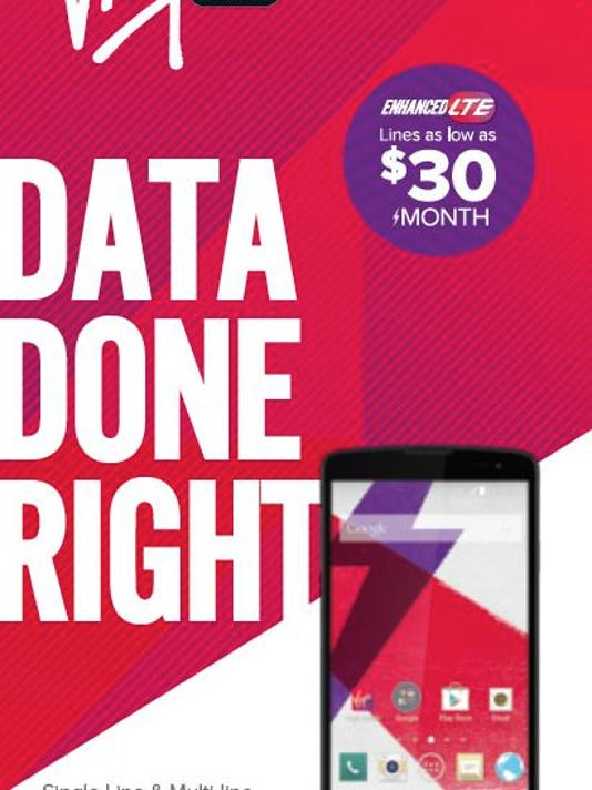 Virgin Mobile unlimited data sharing offer