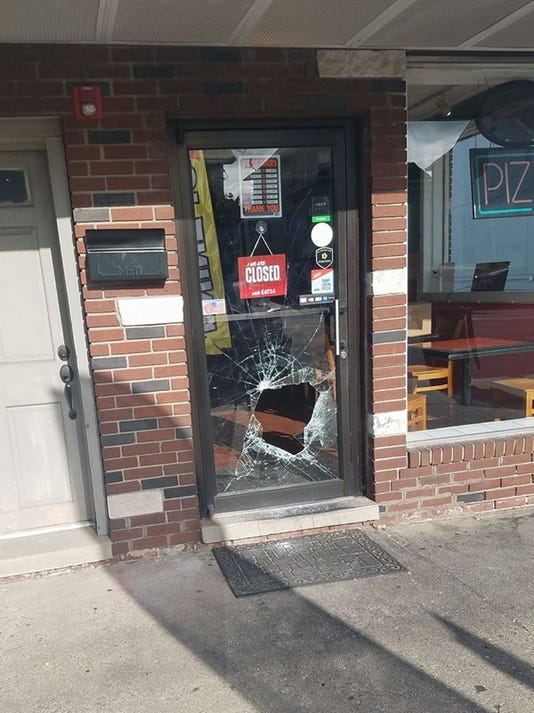 Lyndhurst broken door