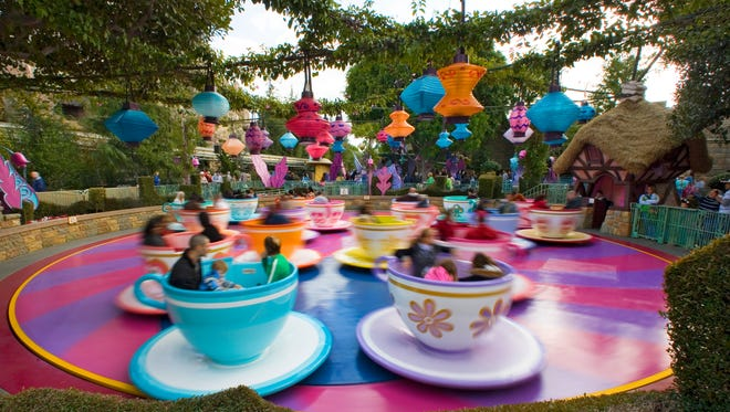 A spin on Disneyland's tea cups just got pricier  with admission price increases at the Southern California attraction.