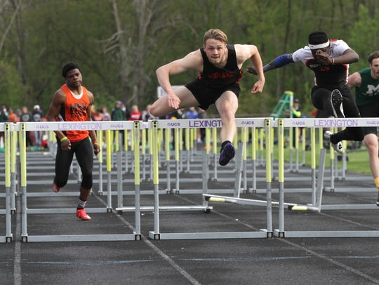 Ashland's Hudson McDaniel breaks the school record