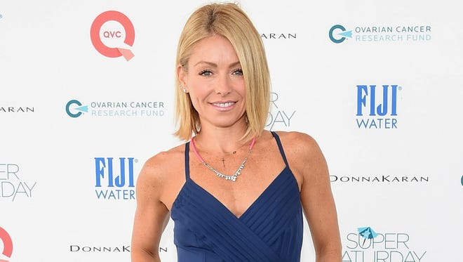 Kelly Ripa attends the OCRF's 17th Annual Super Saturday Hosted By Kelly Ripa And Donna Karan on July 26, 2014 in New York City.