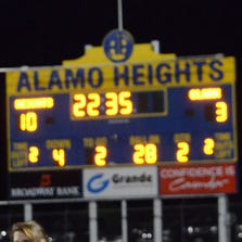 KENS 5 High School Football Scoreboard - Sept. 4-6, 2014.