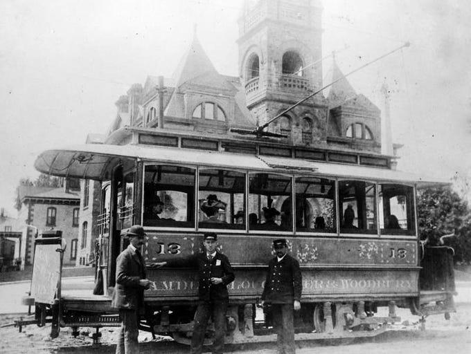 Vanleer's Ice Cream wagon came around at twilight. Millville Historical Society