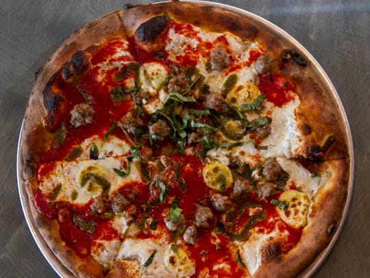 Artisan Pizza featuring the creations of Pasquale Del Ponte, owner of Del Ponte's Coal Fired Pizza.