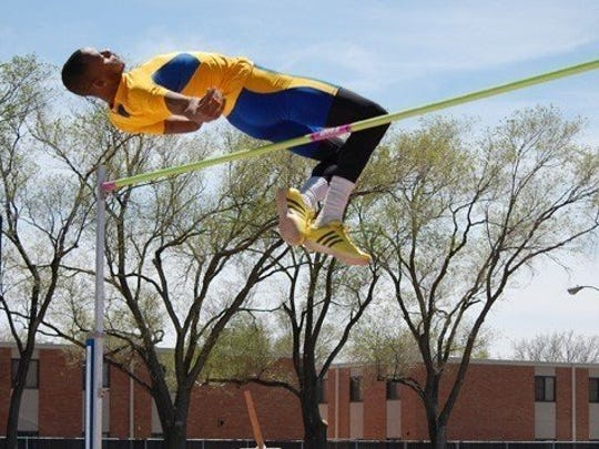In 2014 Texas A&M-Kingsville high jumper Jeron Robinson won his second consecutive national championship at the NCAA Division II Outdoor Track & Field Championships.