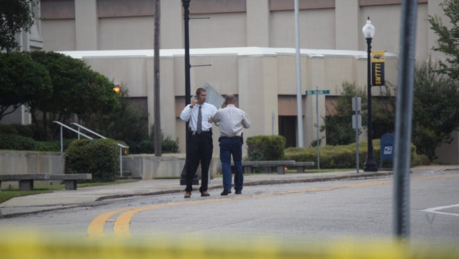 Federal investigators currently on the scene