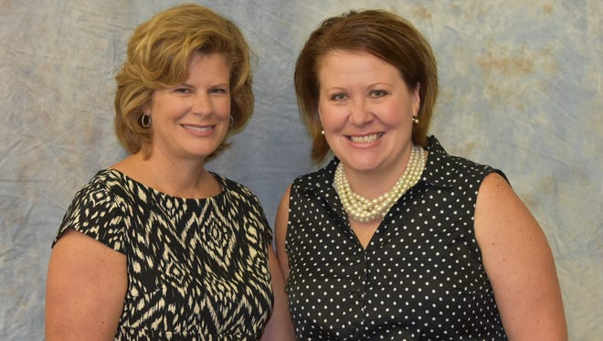 Paula Hase, a librarian at Wausau East High School, and Elizabeth Kysely, a graphics teacher, were part of a team of educators who wrote a proposal that allowed Wausau East to qualify for a $100,000 prize in an online contest.