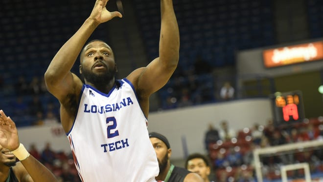 Louisiana Tech forward Erik McCree poured in 30 pounds and 11 rebounds in Saturday's 94-90 win over Marshall.