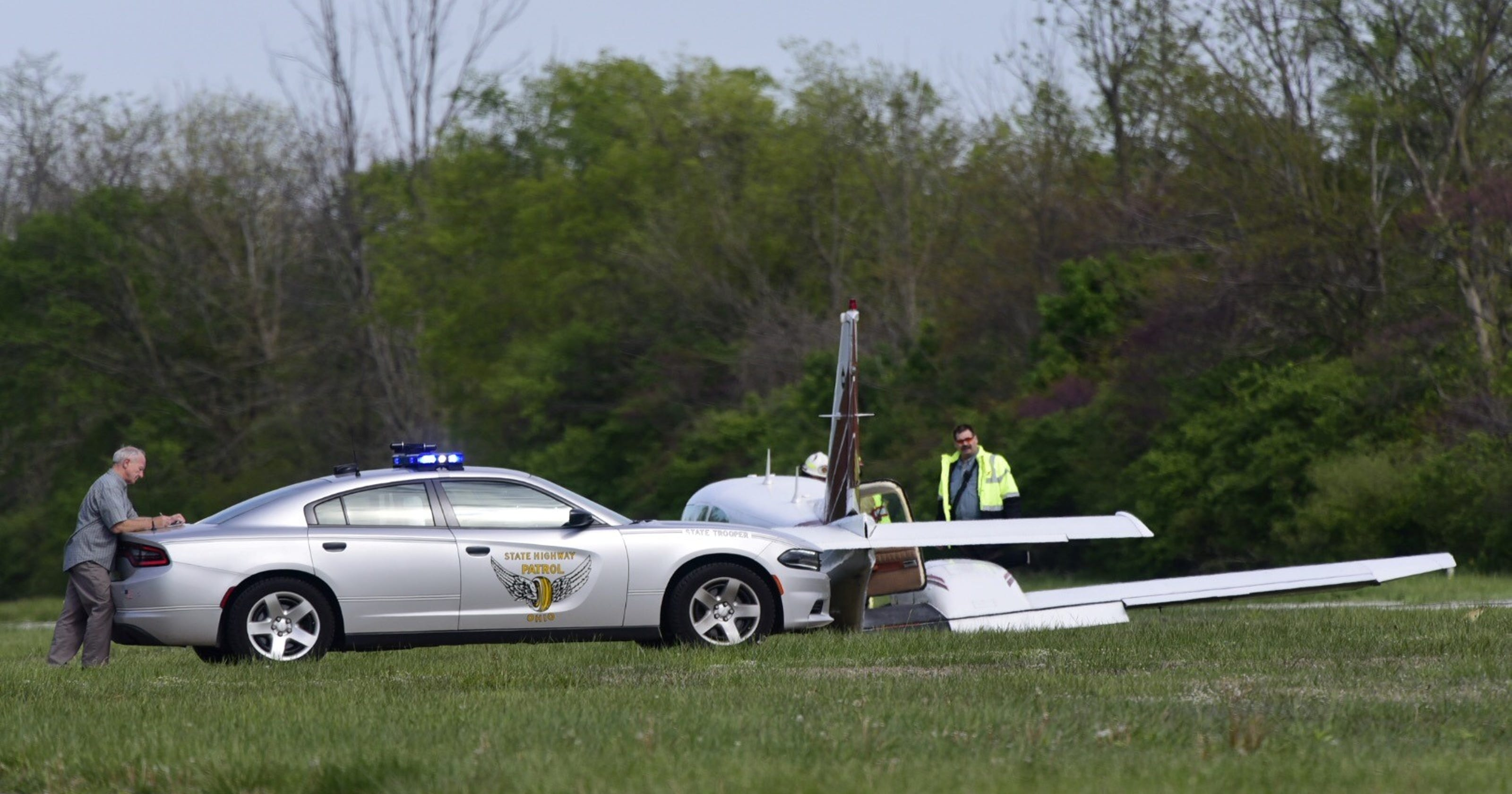 Plane Clips Truck Crashes At Airport No Injuries Reported