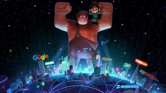 In the 'Wreck-It Ralph' sequel, Vanellope encounters a number of Disney princesses in a scene revealed at D23.