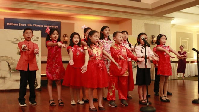 Youths perform during the Moon Festival Celebration hosted by the Millburn-Short Hills Chinese Association on Sunday, Oct. 8, 2017.
