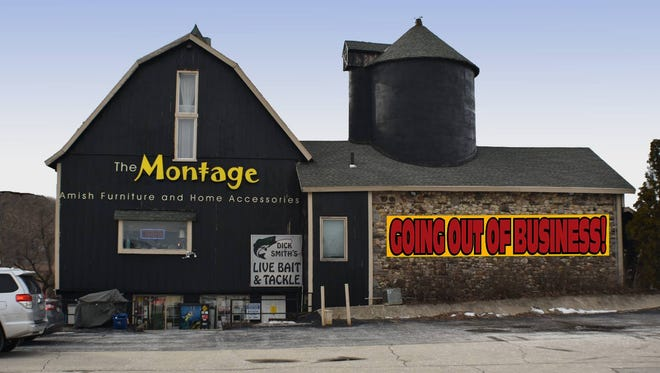 The Montage barn in Delafield is going out of business. An Oconomowoc businesswoman plans to open a toy store in the barn, and hopes to restore the painted smile to the building.