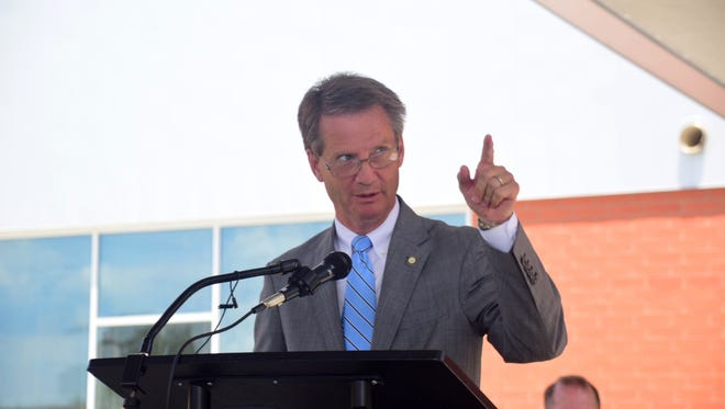 "Knox County Mayor Tim Burchett said, ""There's been a lot of cooperation between the commission, the school board, and the financial people. To do all this without a tax increase and to pay down debt at the same time is unheard of really."""
