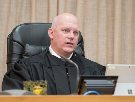 First Circuit Court judge Gary Bergosh