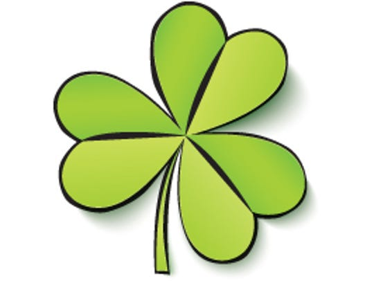 St. Patrick used the three-leafed shamrock to explain