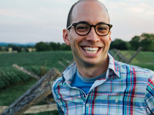 Adam Booth will be one of the storytellers at the Storytelling Festival on Aug. 27.