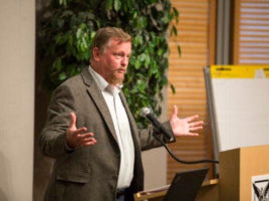 Josh Gruver founded the Muncie Food Hub Partnership.