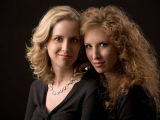 Amy and Sara Hamann made their professional debut at