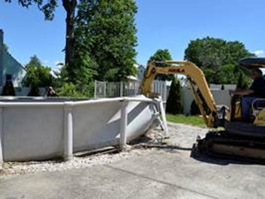 The Woodbridge Department of Public Works and the Department of Health & Human Services have identified and removed more than 33 abandoned swimming pools.