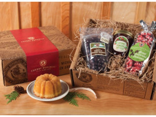 Indulgent Snacker gift set from Cherry Republic