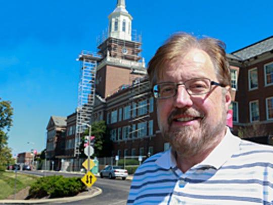 Associate professor Gary Vaughn, MA shown here with