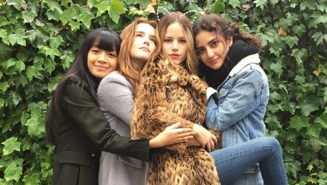 """Zoey Deutch, Medalion Rahimi, Halston Sage and Cynthy Wu in """"Before I Fall."""""""