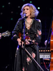 Alison Krauss headlines the Mud Island Amphitheatre on Saturday.