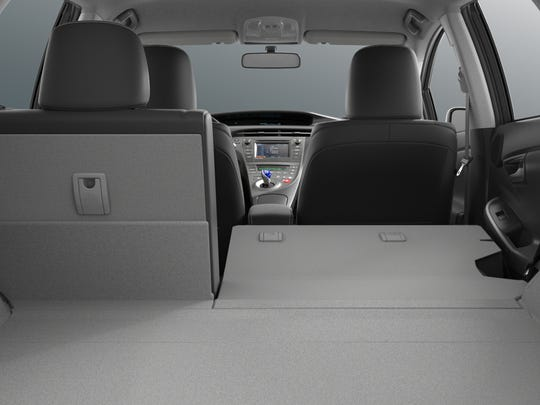 The 2015 Prius Persona Series Special Edition has a top speed of 110 mph.