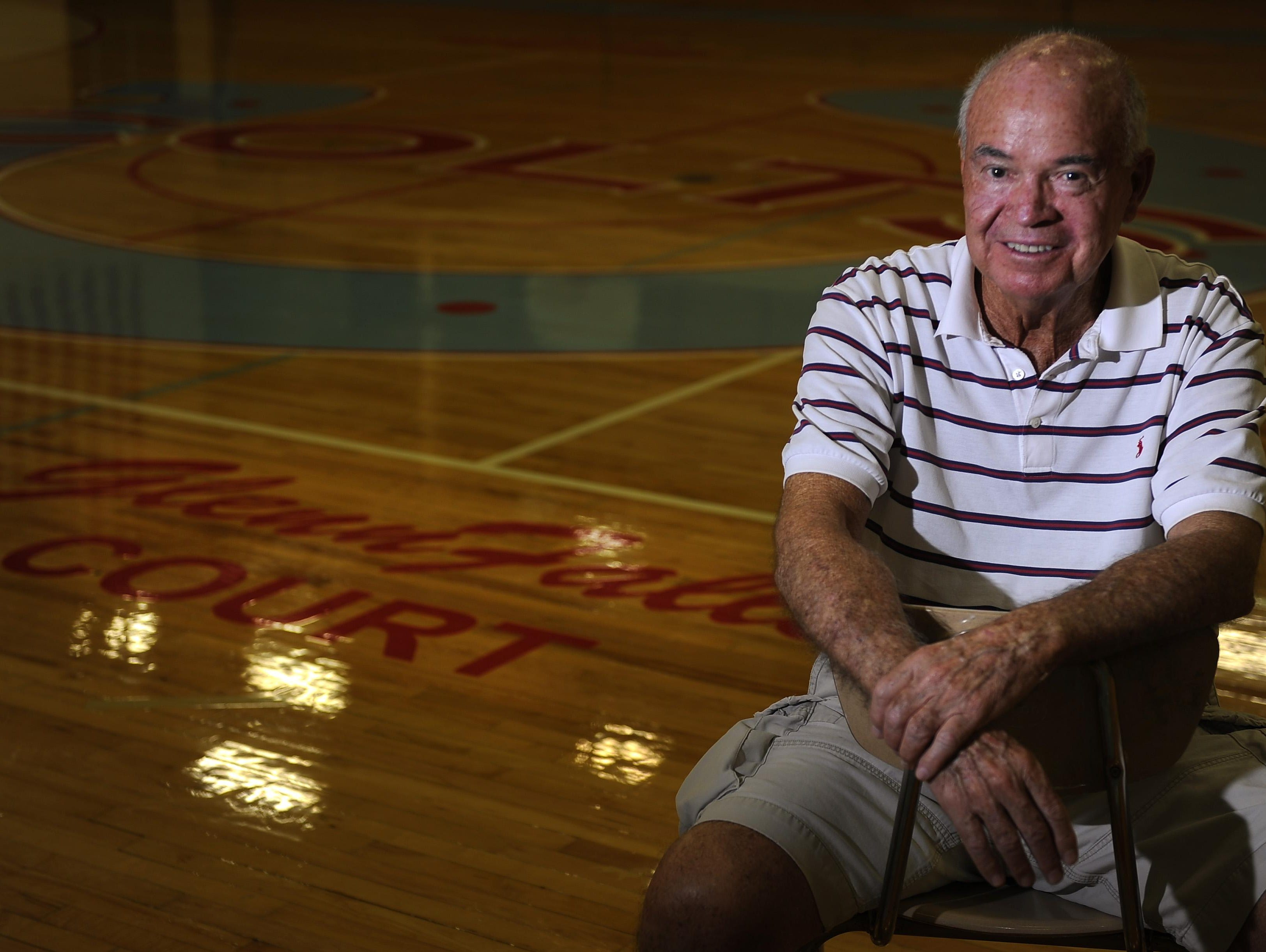 Glenn Falls has been coaching in Metro since 1961. In 2013, Glencliff named its basketball court after him.