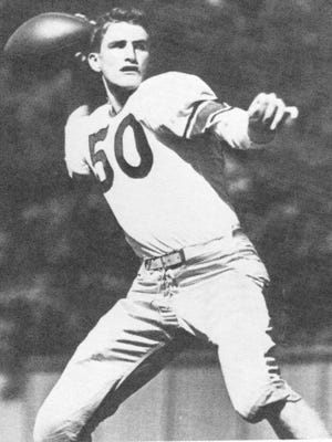 Many Purdue fans believe Bob DeMoss began the Boilermakers' quarterback tradition in 1945.