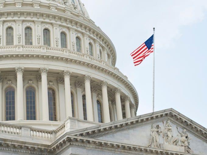 Capitol building in Washington D.C.