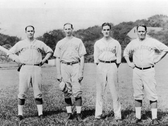 From left General Robert Neyland, Paul Parker Lenox