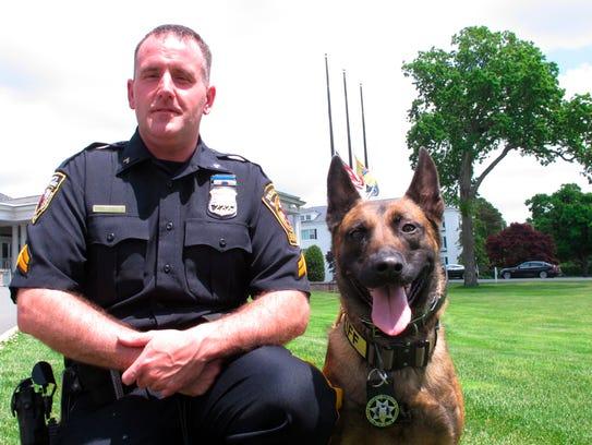 Cpl. Tony Testino, of the Passaic County Sheriff's