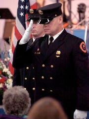 Great Falls Firefighters Chass Perkins and Jeramy Jones