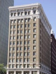 The 12-story Midland Building was built in 1913.