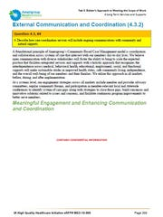 Information about enhancing communications was initially
